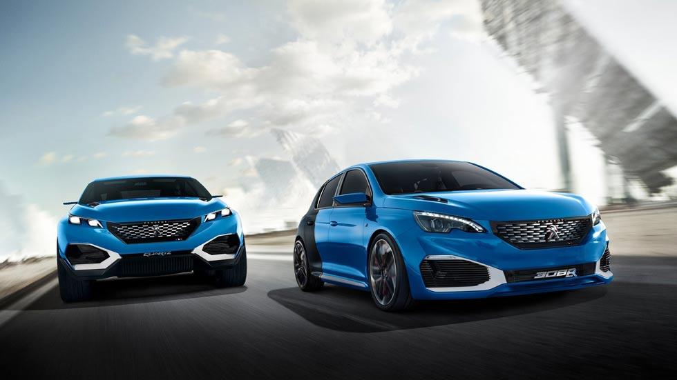 Los nuevos Peugeot deportivos serán eléctricos o híbridos