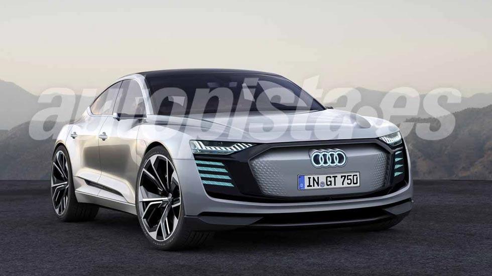 Audi e-tron GT: el rival de Tesla que veremos en el Salón de Los Ángeles