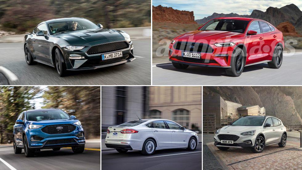 Todos los nuevos Ford que llegan en 2019: Mondeo, Kuga, Focus Active, Edge…