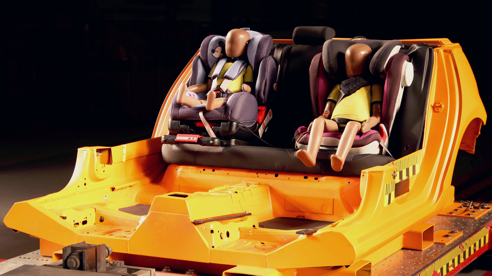 La seguridad en las sillitas infantiles de coches: las mejores y las peores