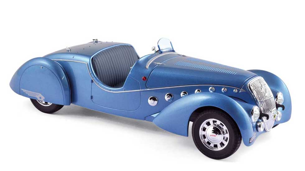 Peugeot lanza nuevas miniaturas de sus mejores coches clásicos