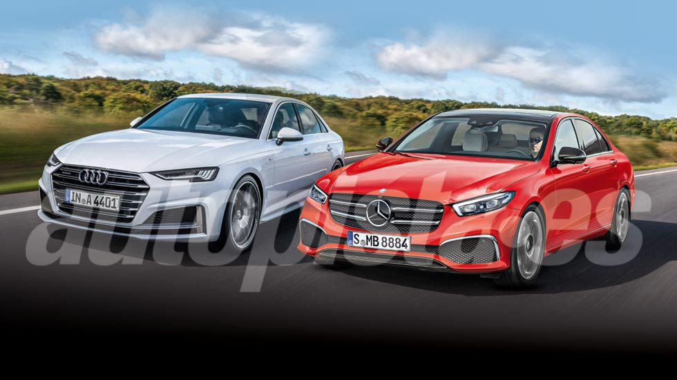 Audi A4 2020 vs Mercedes Clase C 2021: el nuevo gran duelo de berlinas