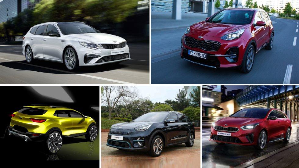 Todos los Kia que llegan en 2019: Sportage, Optima, Niro EV, Proceed…