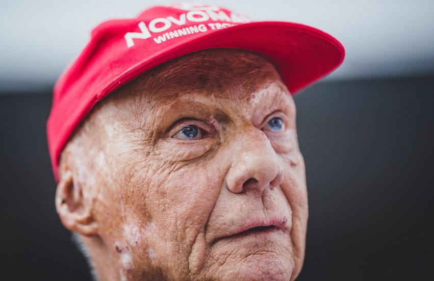 Niki Lauda ya está en casa