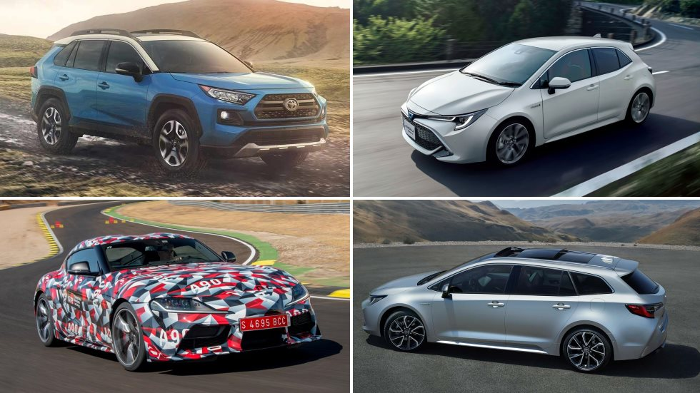Todos los nuevos Toyota que llegan en 2019: Corolla, RAV4 y Supra