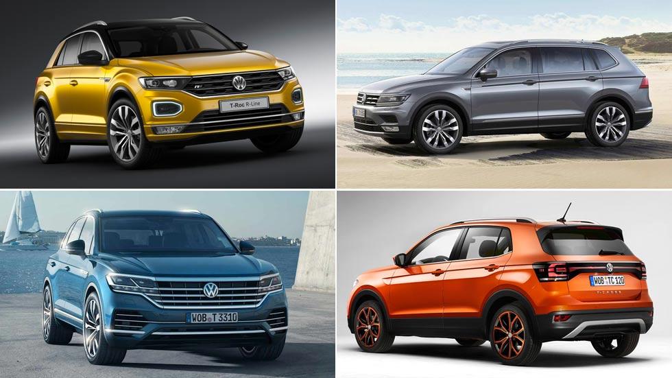 Volkswagen: la mitad de sus coches serán SUV