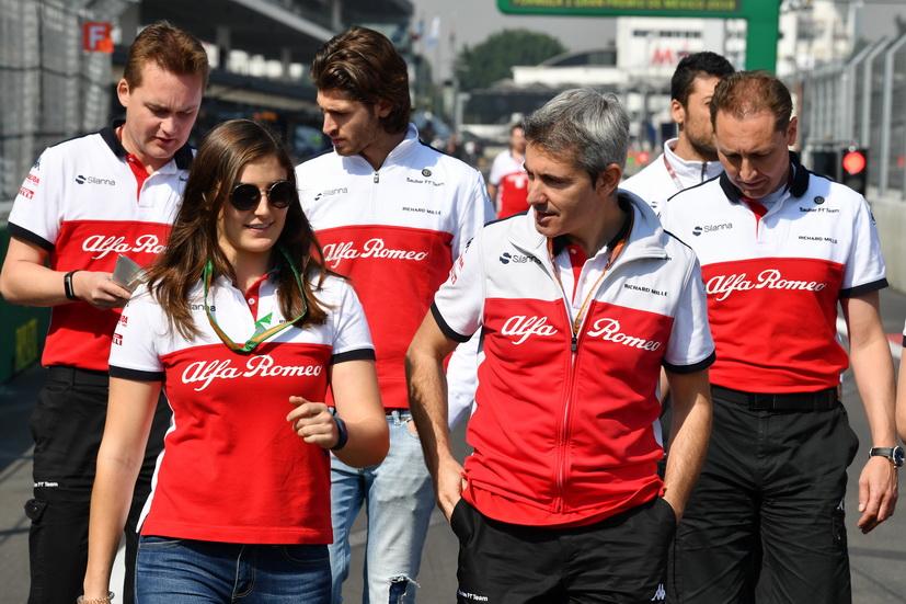 GP de México: Tatiana Calderón, la primera latinoamericana que rodará en un F1