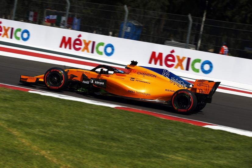 GP de México: poca actividad para Alonso en el Hermanos Rodríguez