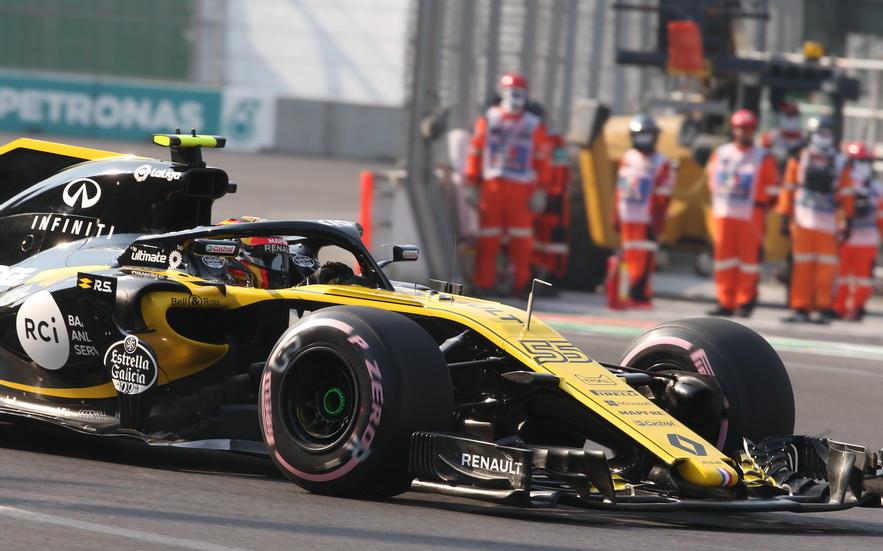 GP de México: tercera posición para Carlos Sainz el primer día