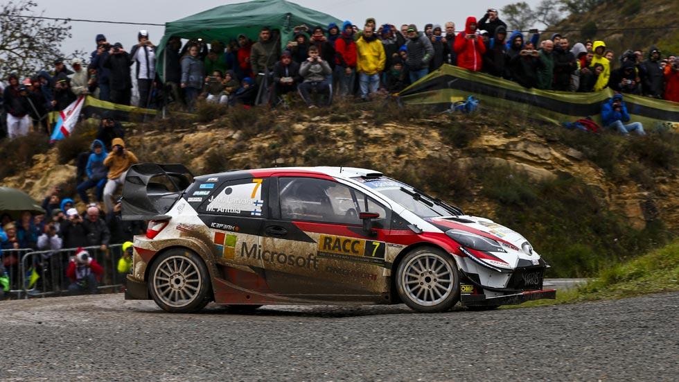 Rally de España 2018 (sábado): Latvala toma el mando; Sordo, sexto