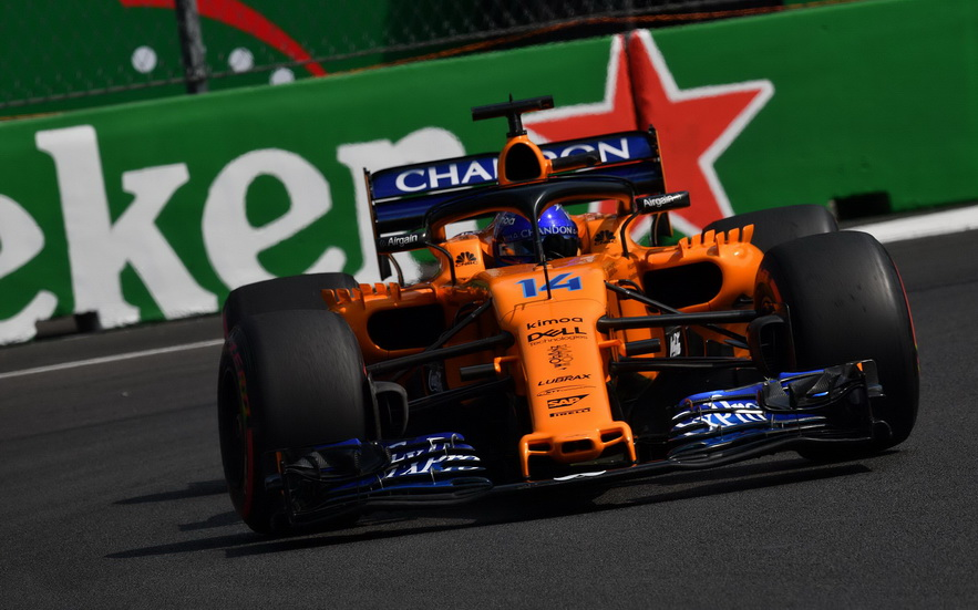 GP de México: Alonso partirá 12º y podrá escoger neumático