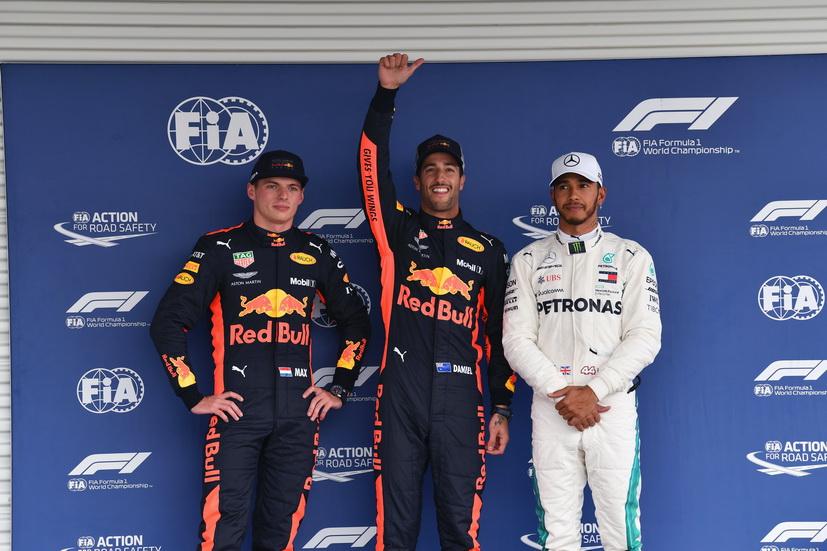 GP de México: Ricciardo le roba la pole y el récord a Verstappen