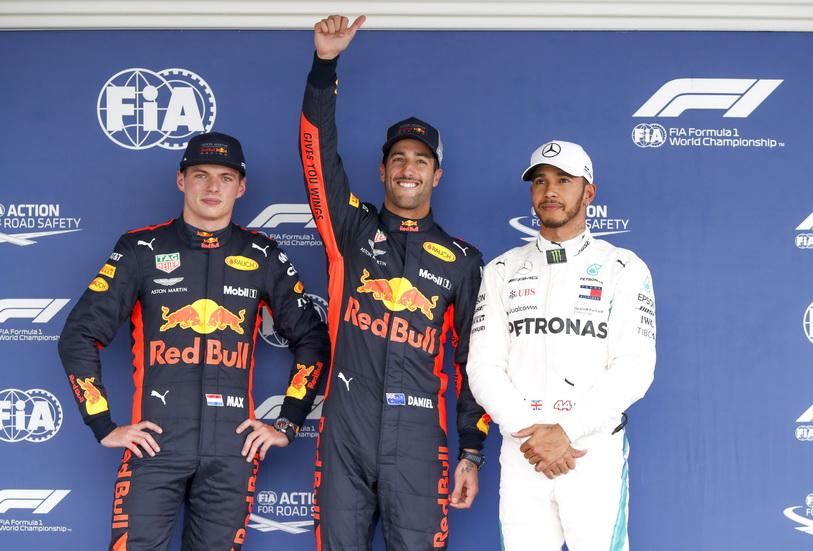 GP de México: esta es la parrilla de salida