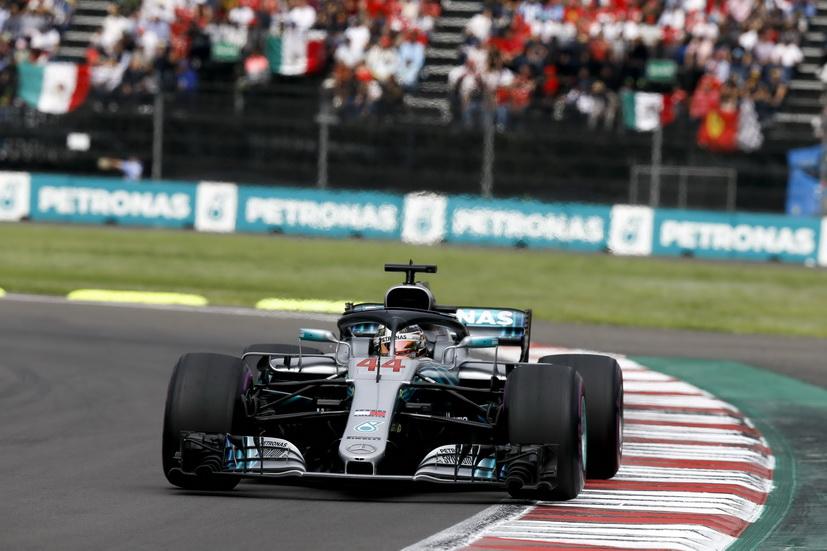 GP de México: quinto título para Hamilton y victoria de Verstappen