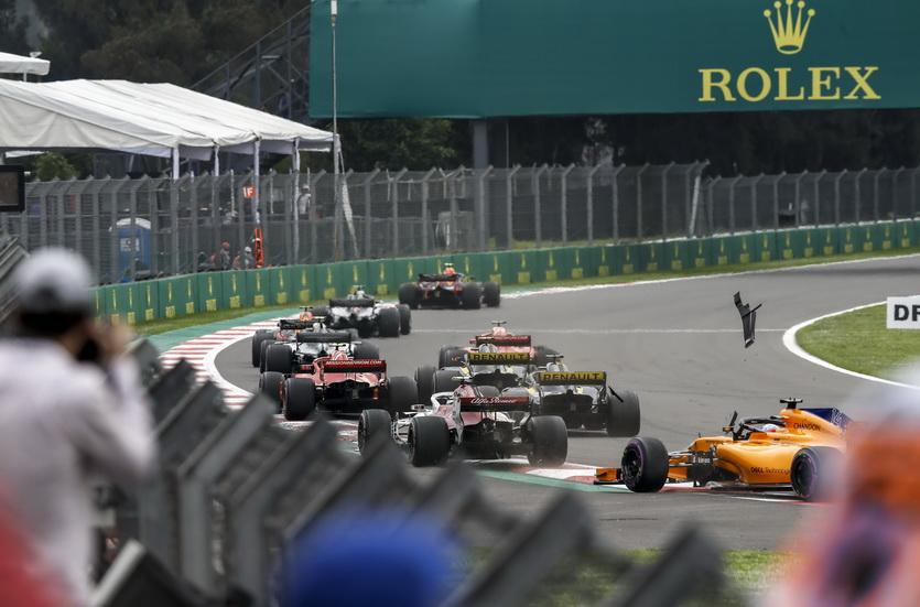 GP de México: Alonso abandonó en carrera