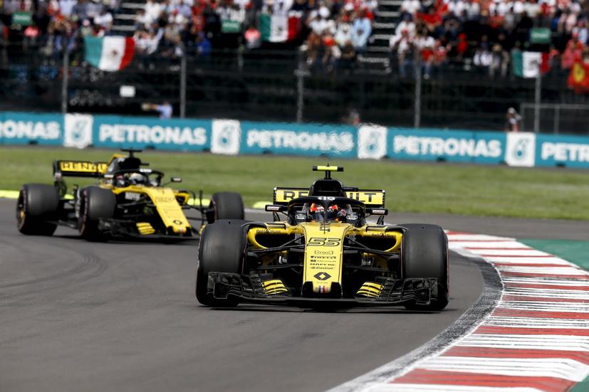 GP de México: magnífica salida de Carlos Sainz, pero un problema mecánico le obligó a abandonar