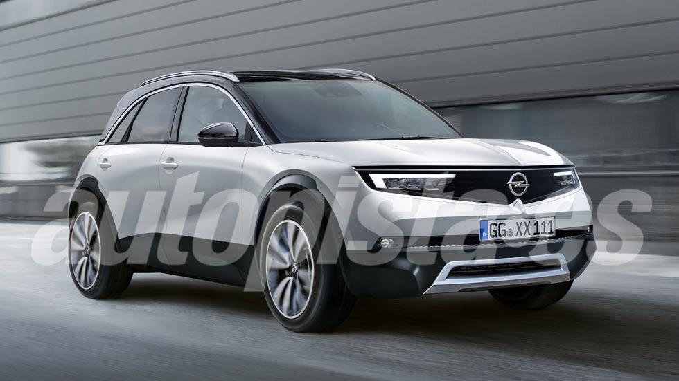 Opel Mokka X 2020: nuevos datos e imágenes del SUV con base del Peugeot 2008
