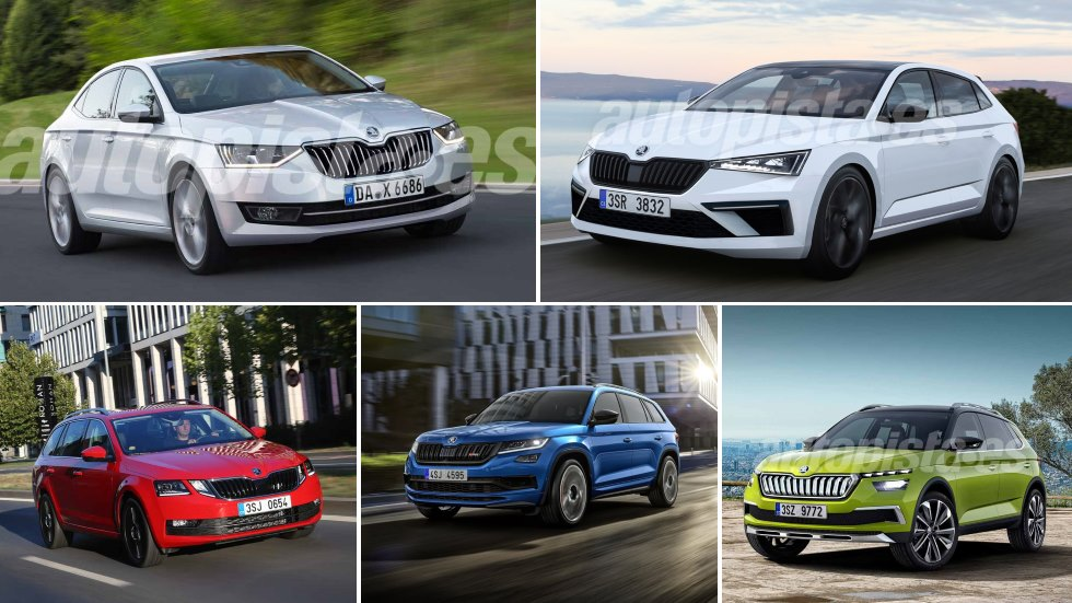 Todos los Skoda que llegan en 2019: Scala, Superb, Octavia G-Tec, Kodiaq RS…