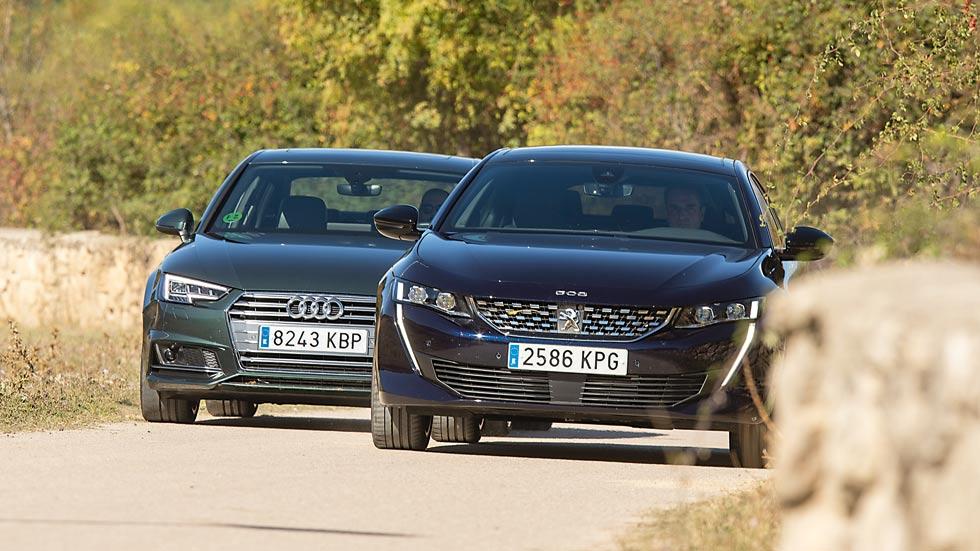 Revista Autopista 3074: Peugeot 508 frente a Audi A4, ¿cuál es mejor?