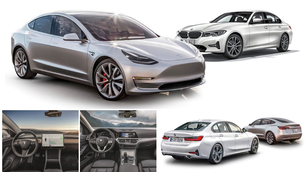 Tesla Model 3 vs BMW Serie 3: nos subimos a las berlinas que llegan en 2019