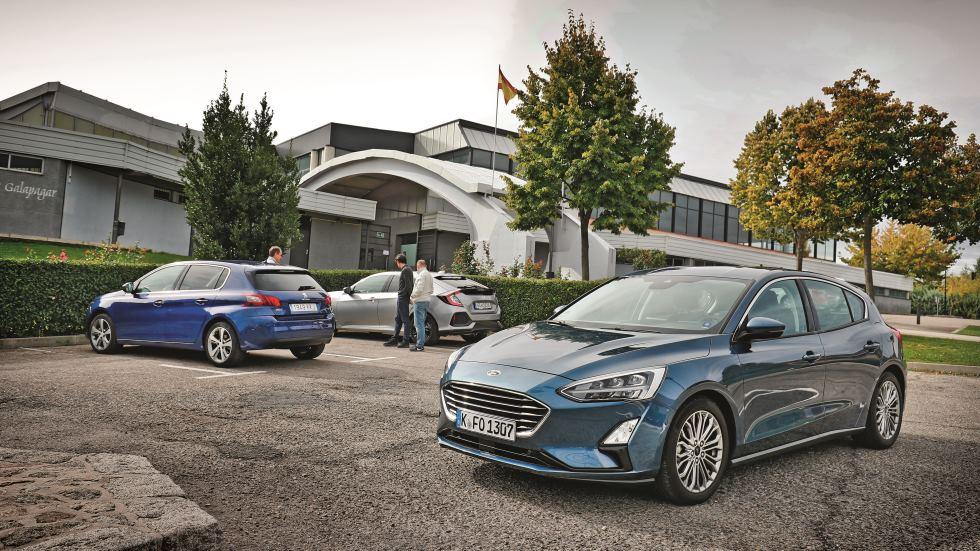 Comparativa: Ford Focus, Honda Civic y Peugeot 308, ¿cuál es mejor?