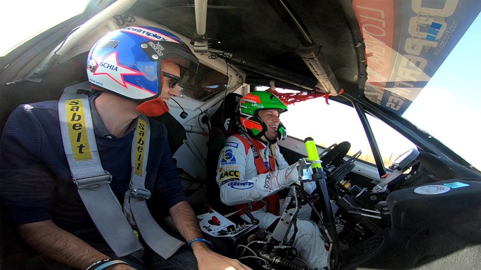Entrevistamos y copilotamos a Albert Llovera en su coche de rallycross (VÍDEO)