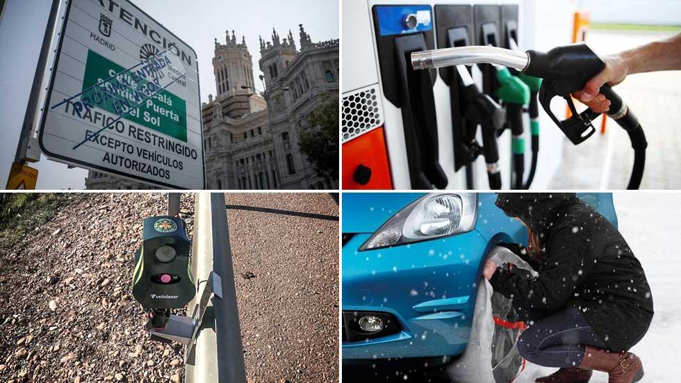 Halloween: multas, precio del Diesel, averías… lo que más miedo nos da a los conductores