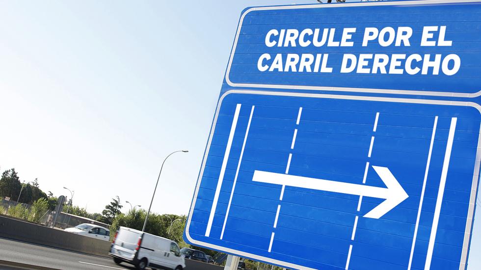 Por qué no debes circular por el carril izquierdo y las multas que supone (Vídeo)