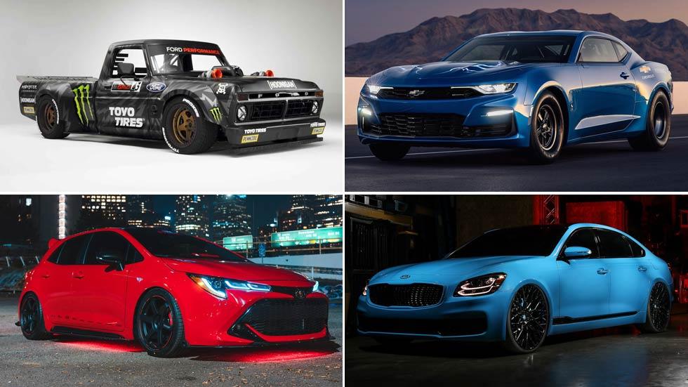 Los mejores coches del SEMA 2018: deportivos, SUV, todoterrenos…