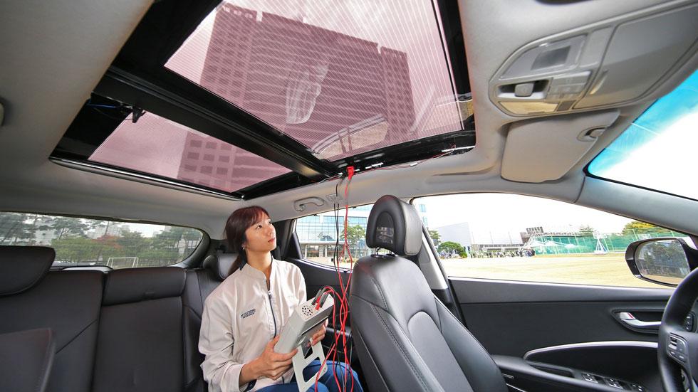 Kia y Hyundai revelan un nuevo sistema de carga solar para coches