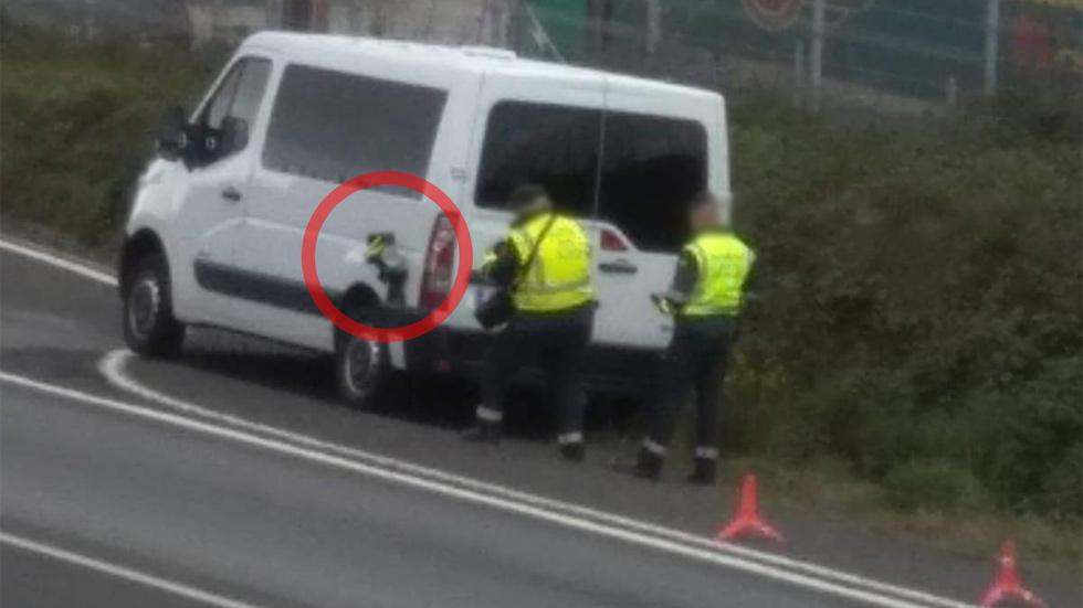 Cazados: así son el camión y la furgoneta camuflados con radar de la DGT