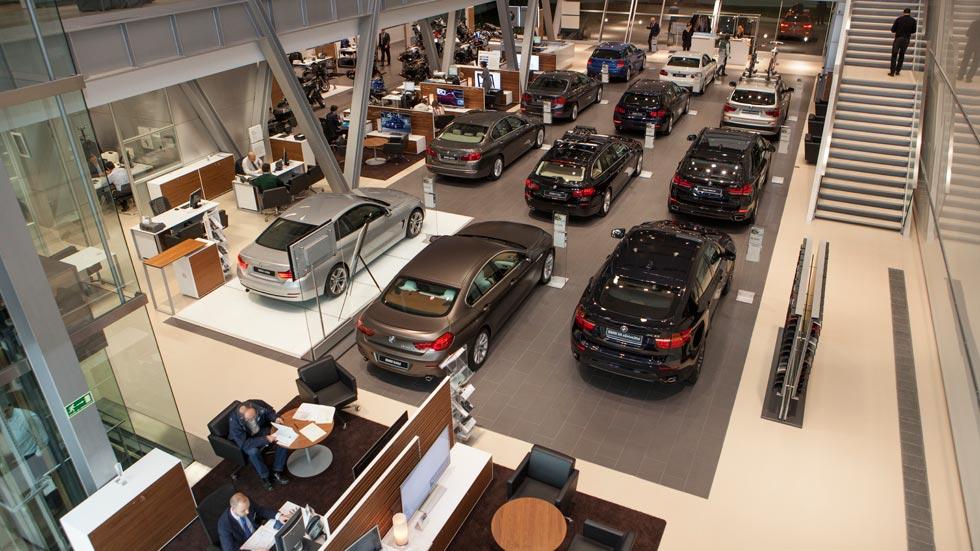 Las ventas de coches se desploman un 6,6 por ciento en octubre