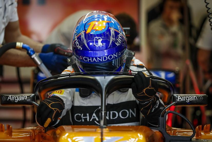 Un día después del GP de Abu Dabi, Alonso se subirá a un Nascar en Baréin