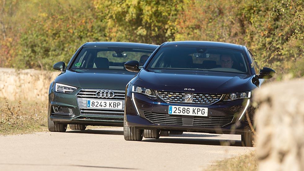 Súper comparativa: Audi A4 vs Peugeot 508, ¿qué berlina es mejor?