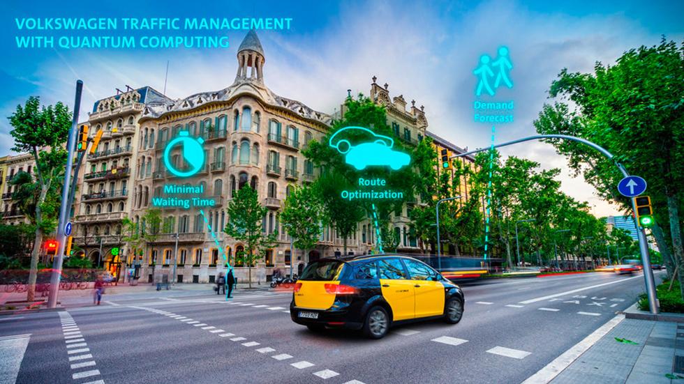 VW prueba ya algoritmos cuánticos para gestionar el tráfico de las ciudades