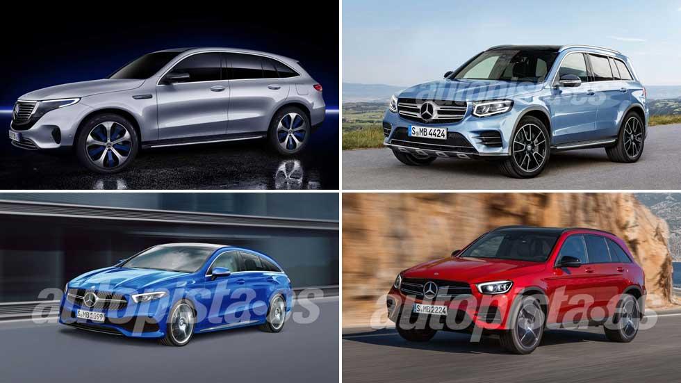 Todos los nuevos Mercedes que llegan en 2019