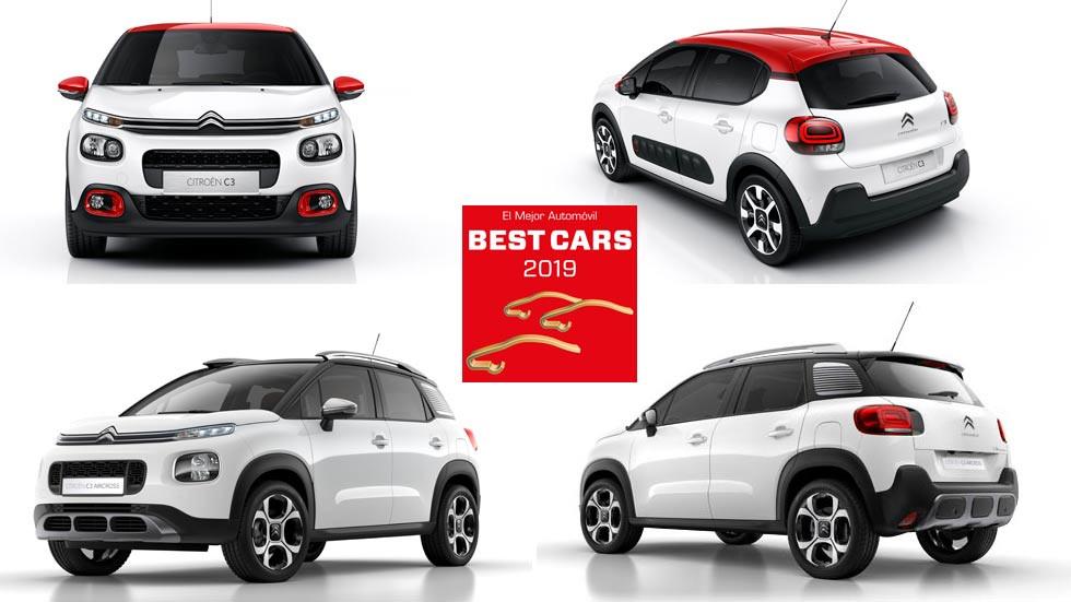 Participa en Best Cars 2019 y podrás ganar un Citroën C3 o un C3 Aircross