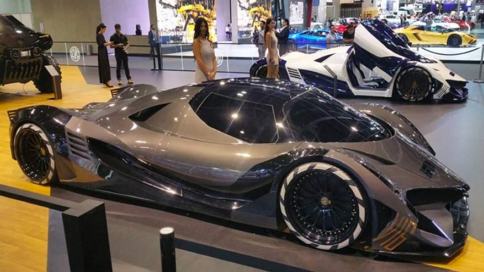 ¿Un coche de más de 5.000 CV? Es real y se llama Devel Sixteen (vídeo)