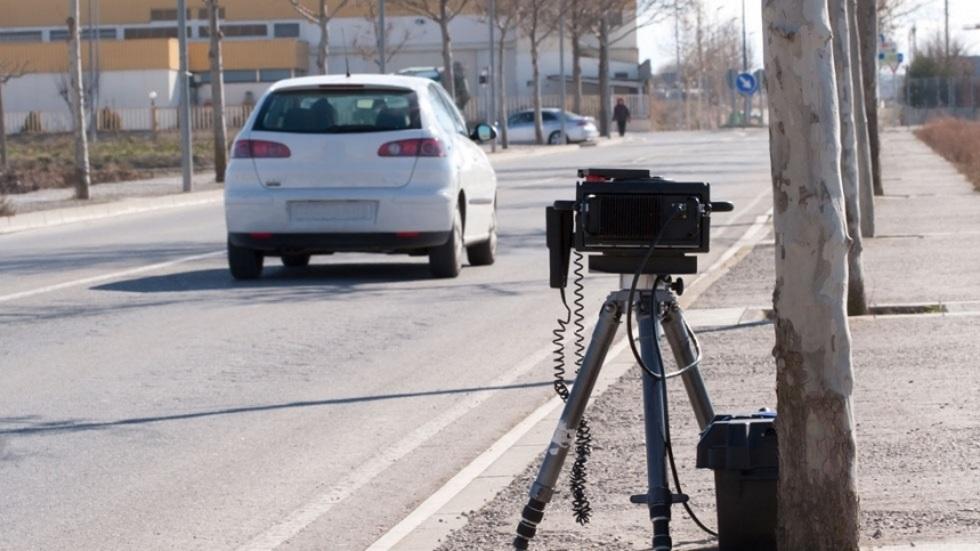 El radar móvil que multa a más de la mitad de coches que pasan