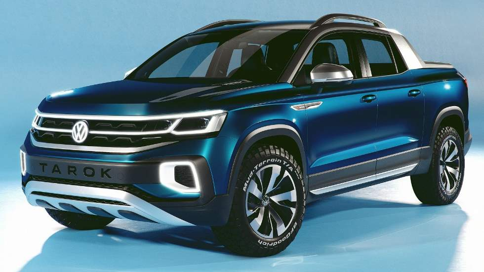 Volkswagen Tarok Concept: así es el hermano menor del Amarok