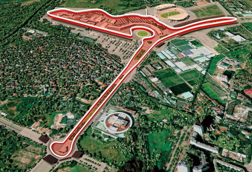 La Formula 1 llegará a Hanoi en 2020