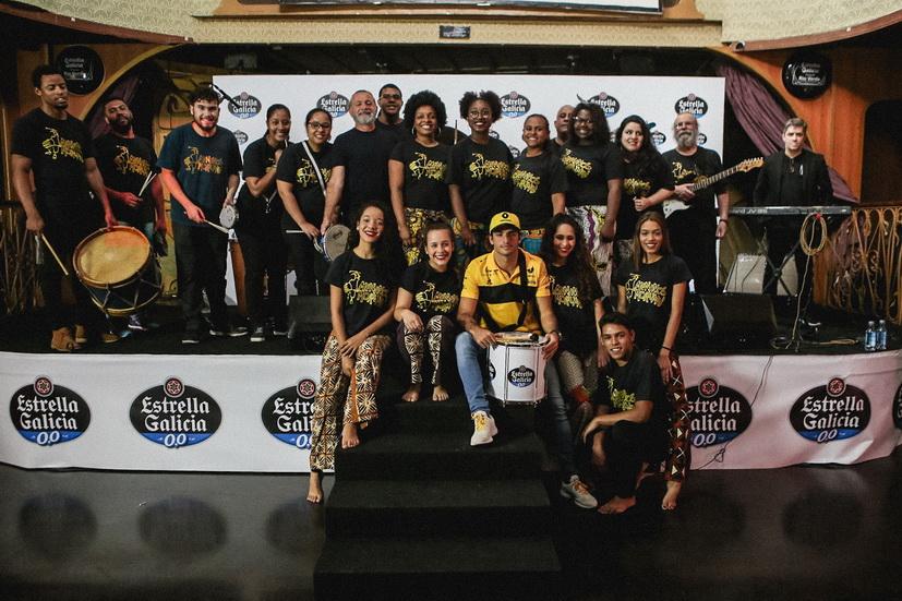 """GP de Brasil: Sainz con los """"Meninos do Morumbi"""""""
