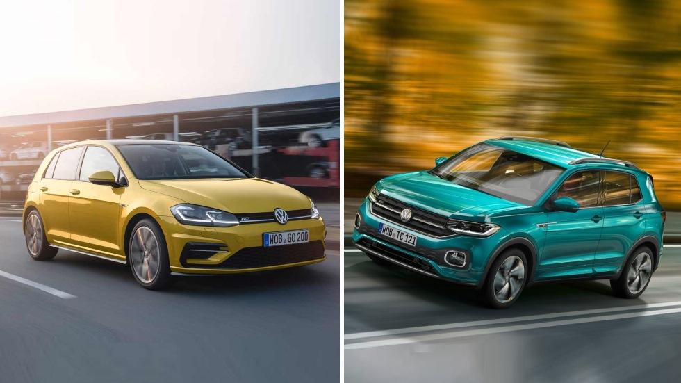 Volkswagen T-Cross vs VW Golf: SUV o compacto, ¿qué interesa?