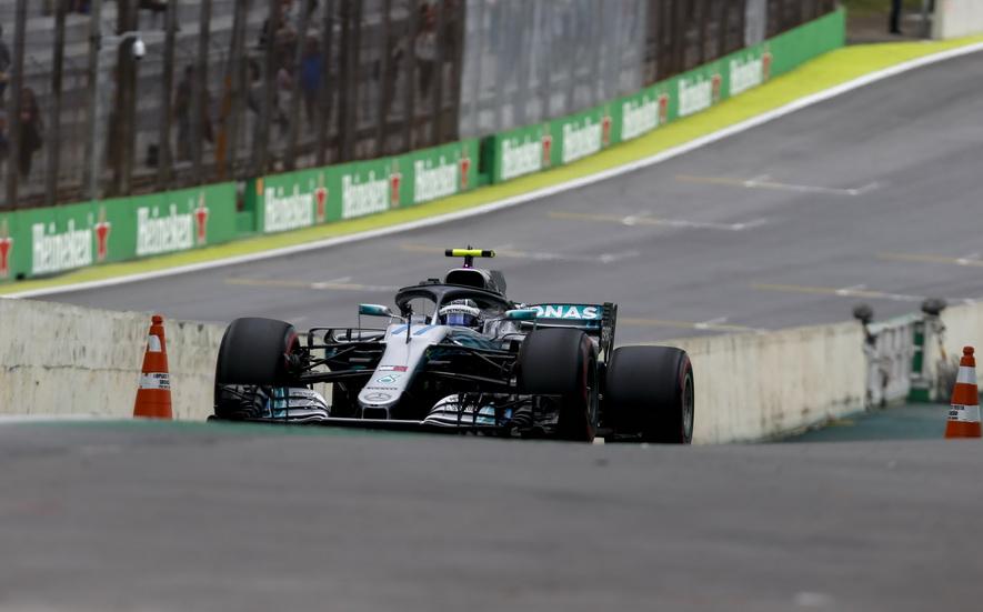 GP de Brasil (FP2): Bottas lideró la segunda sesión