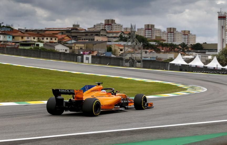 GP de Brasil: Alonso fue ovacionado por el público