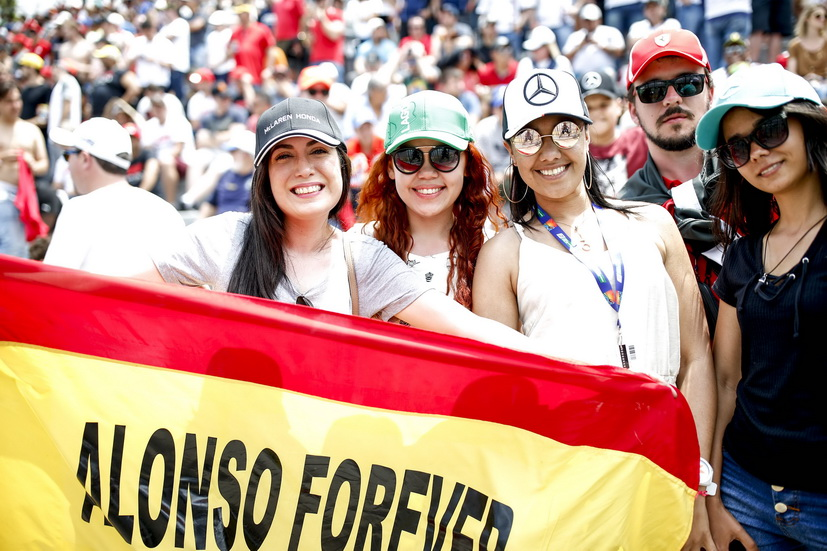 GP de Brasil: Alonso se clasificó 17º en carrera
