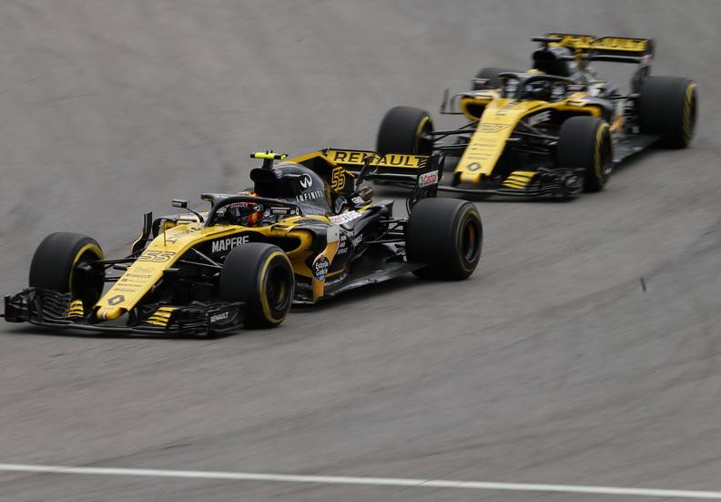 GP de Brasil: Sainz disfrutó de la carrera en Interlagos