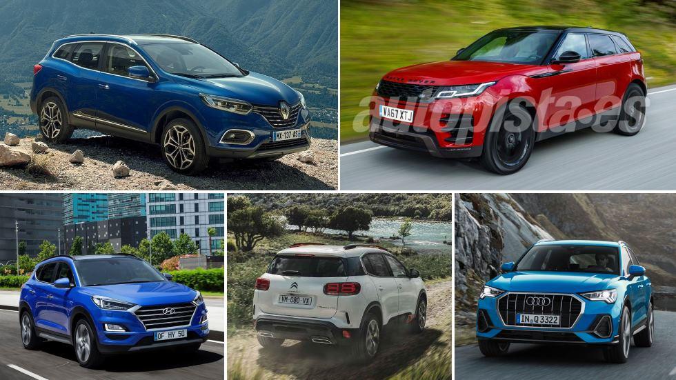Los nuevos SUV compactos de 2019, por marcas: Kadjar, Tucson, Ateca, 3008, Kuga…