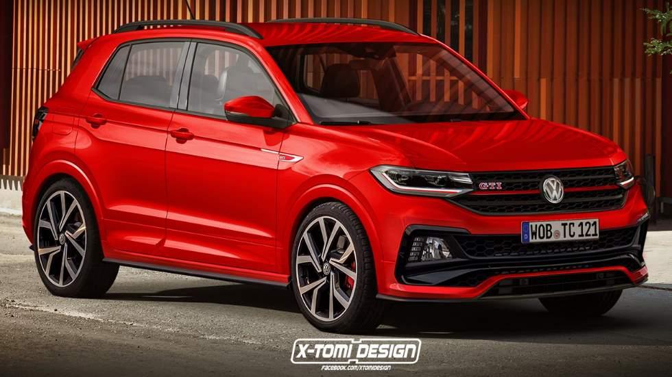 VW T-Cross GTI: primeros datos e imagen del nuevo SUV deportivo