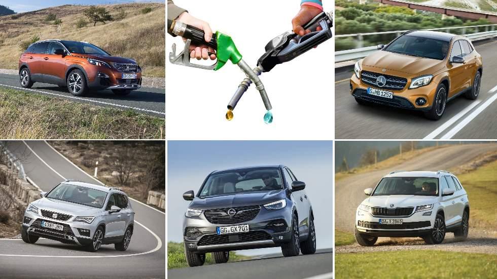 Ateca, 3008, Grandland X, GLA y Kodiaq: ¿qué interesa más, Diesel o gasolina?